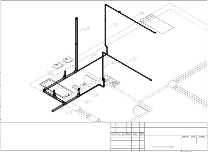 проектирование канализации частного дома