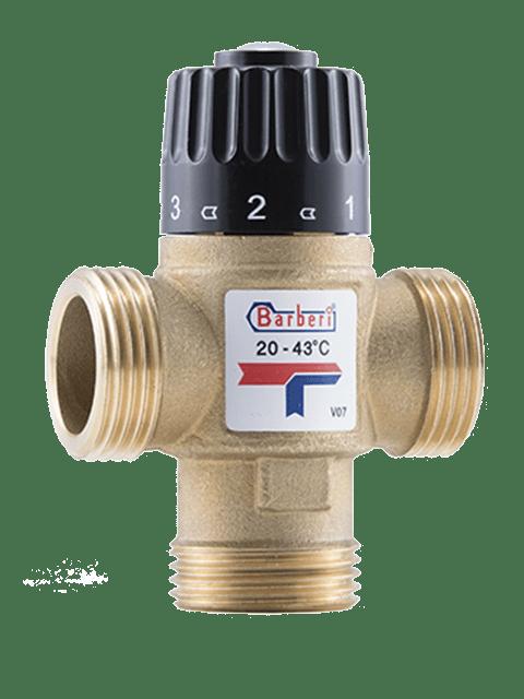 термостатический смесительтный клапан Barberi арт.V07