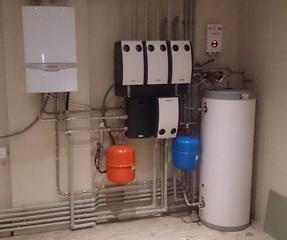 Монтаж газовых котлов Vaillant
