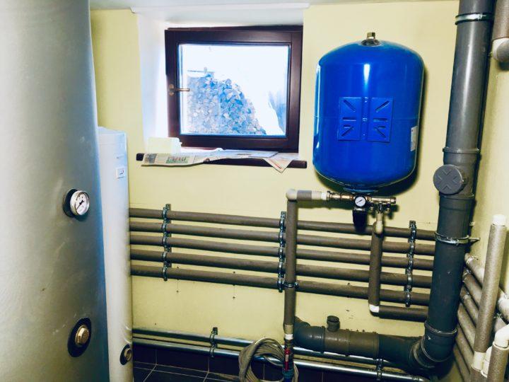 Монтаж отопления и канализации в доме