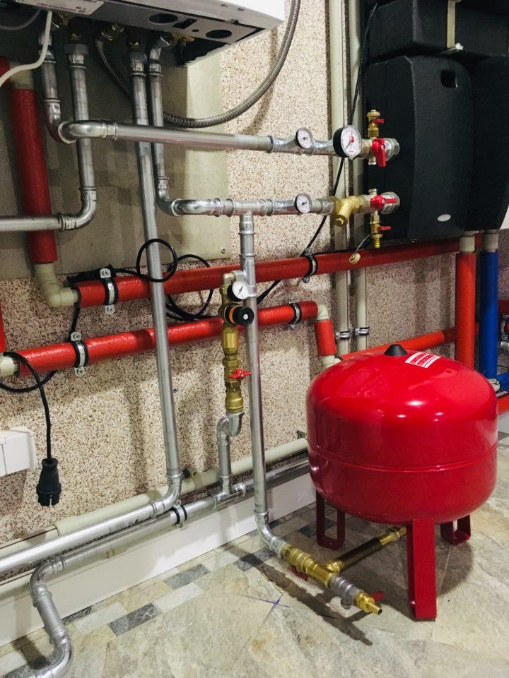 Подключение газового котла Vaillant
