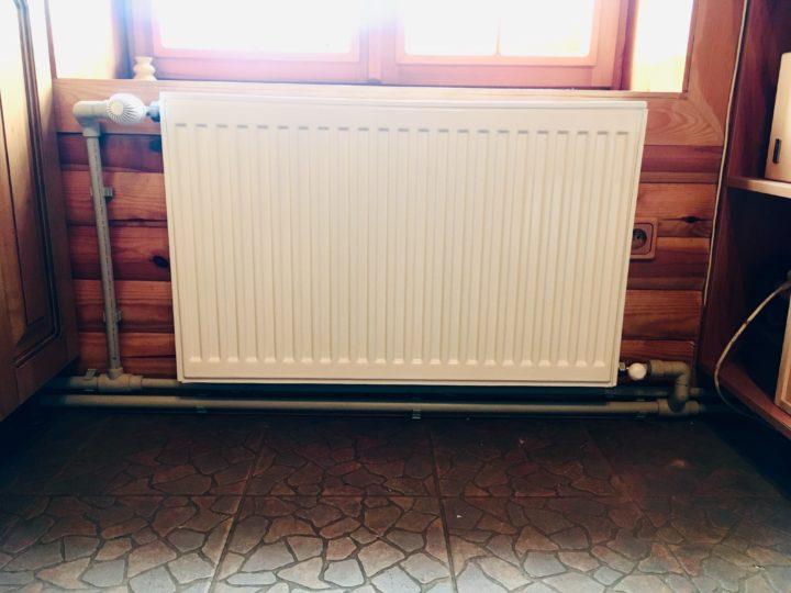 двухтрубное подключение радиатора
