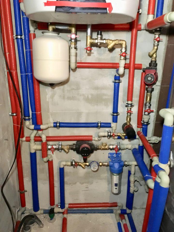 Монтаж отопления дома и обвязка бойлера косвенного нагрева