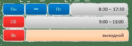 график работы для монтажников в компании Азбука Тепла
