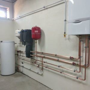 Монтаж доступной системы отопления с котлом Vaillant