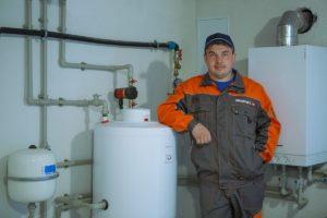 Монтаж отопления дома с одноконтурным газовым котлом Viessmann