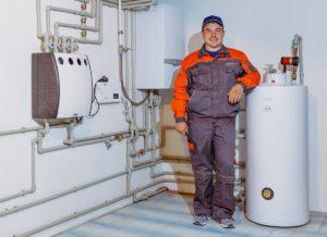 Работы по монтажу системы отопления частного дома