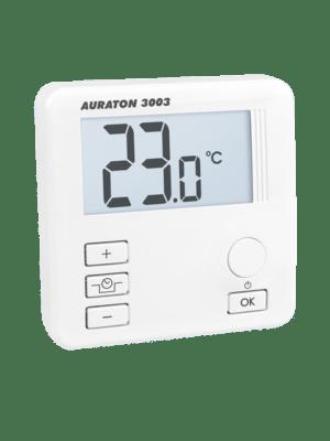 Комнатный проводной суточный термостат auraton 3003