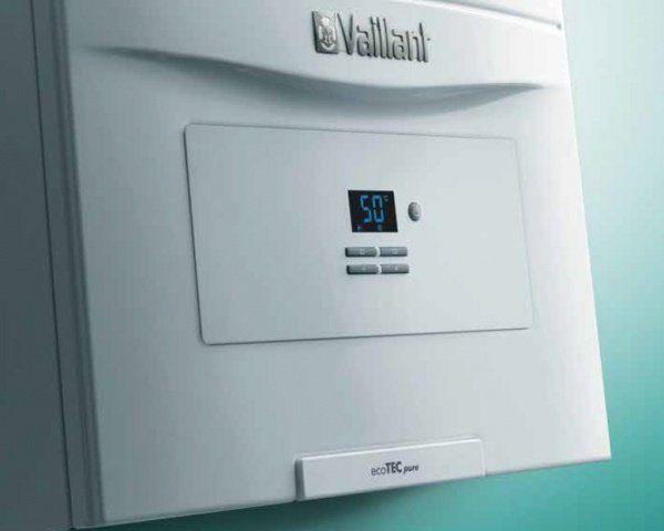 конденсационные котлы Vaillant ecoTec PURE дисплей