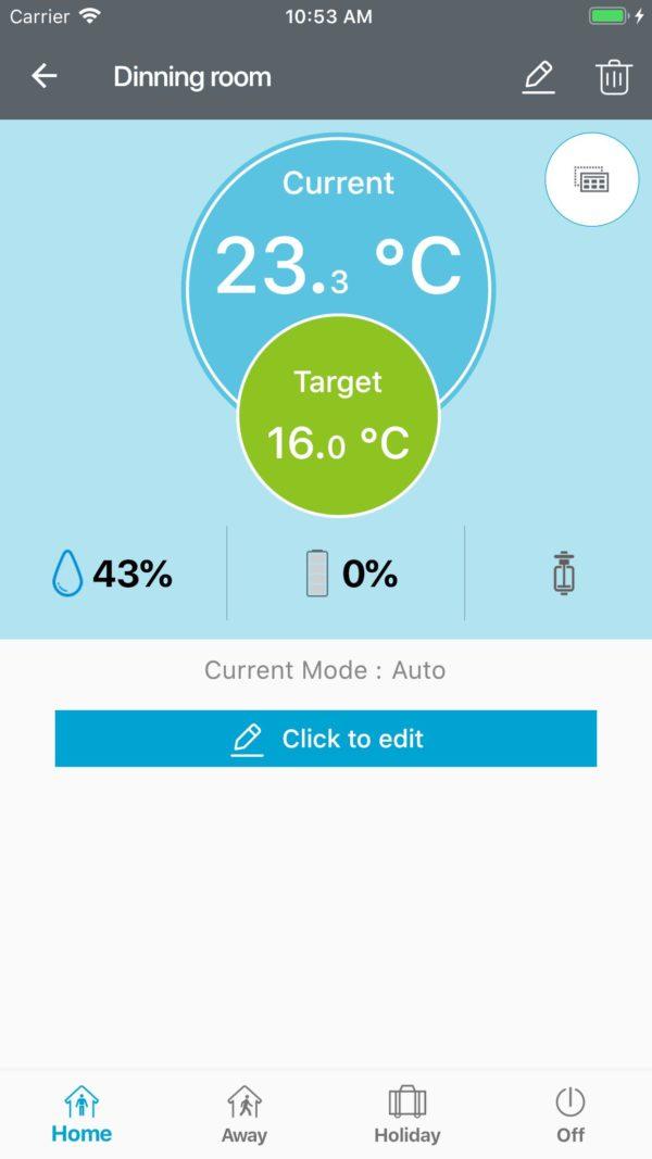 Управление температурой с телефона POERSmart