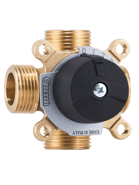 46102500MC Barberi Трехходовой смесительный клапан