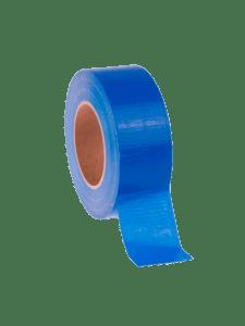 Армированная клеевая лента для утеплителя синяя - 50 м.