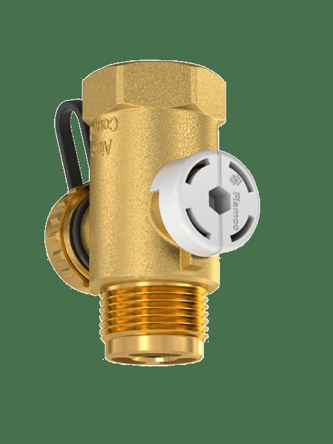 Проточно-запорный-клапан-Flamco-AirfixControl-со-сливом