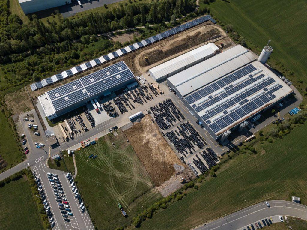 Завод maincor по производству труб pert в германии