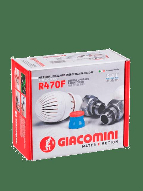 Комплект-радиаторных-термостатических-кранов-giacomini-с-термоголовкой