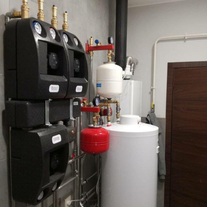 Проклимат монтаж отопления дома и установка насосных групп Barberi