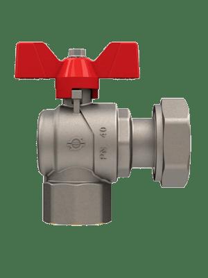 Кран-шаровый-запорный-с-накидной-гайкой-FIV-6070R-красный