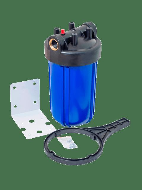 Магистральный-фильтр-для-ввода-холодной-воды-Big-Blue-колба-10