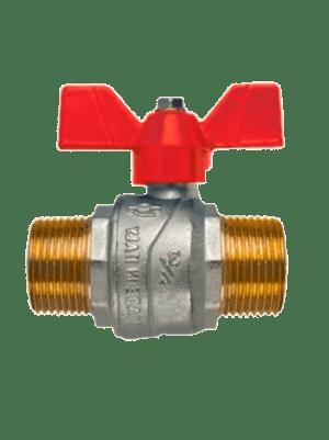 Полнопроходной-шаровый-кран-FIV-6021R-EVOLUTION-НН-красный