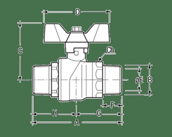 Размеры-шаровых-кранов-FIV-6041R