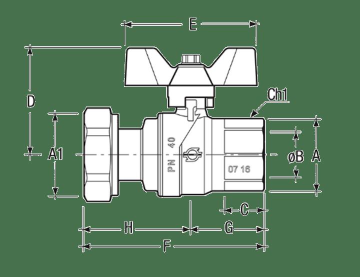 Размеры-шаровых-кранов-FIV-6067R