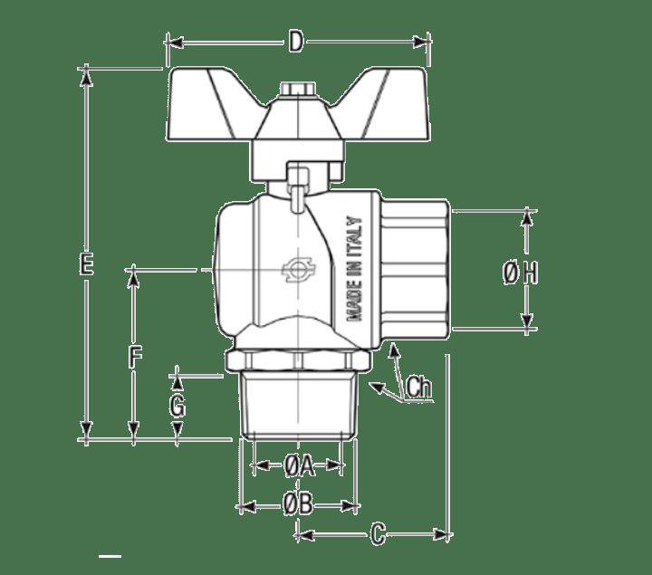 Размеры-шаровых-кранов-FIV-6772R