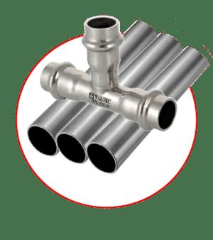 Нержавеющая сталь трубы и фитинги VALTEC