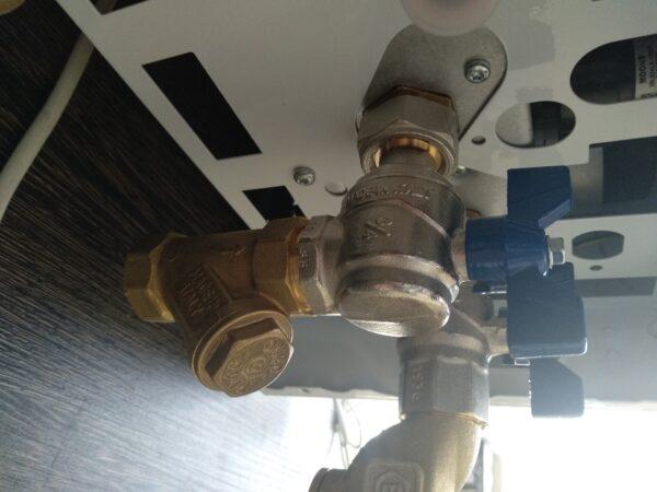 у-образный фильтр грубой очистки для отопления и воды