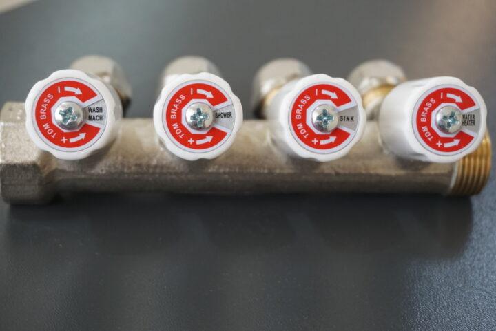 гребенки коллектора для горячей воды TDM Brass