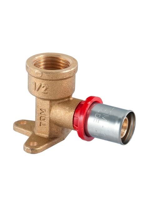 TDM-Brass-16801216--водорозетка металлопласт