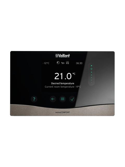 Погодозависимая автоматика VAILLANT-sensoCOMFORT_VRC_720