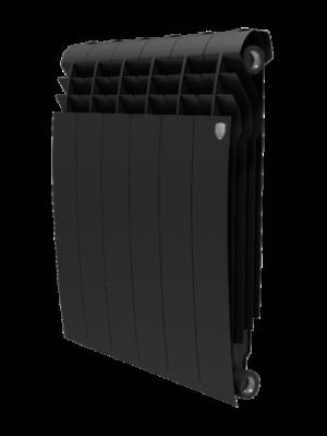 Радиатор-алюминиевый-RoyalTerm-biliner-500-Alum-черный