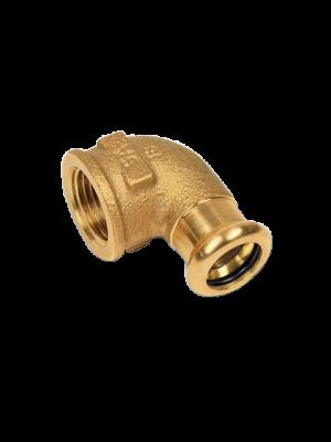 Пресс-фитинги Sanha PURAPRESS® (Германия) из кремнистой бронзы CuSi не содержащей свинец для соединений с медными трубами или с трубами из нержавеющей стали NiroSan®