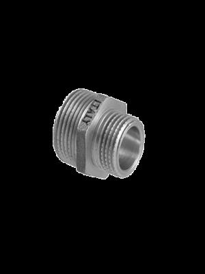 Ниппель переходной никелированный итальянского производителя TDM Brass
