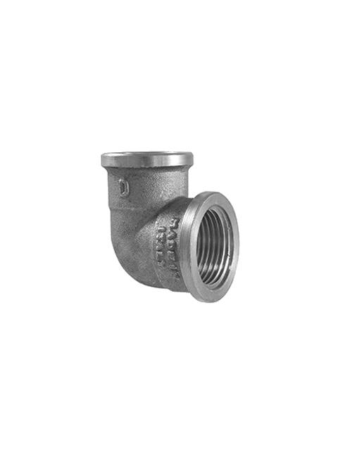 Поворот (угол) 90 градусов никелированный торговой марки TDM Brass (Италия) артикул 200N