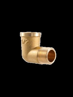 Угол (поворот) латунный 90 градусов TDM Brass (Италия) арт. 210P