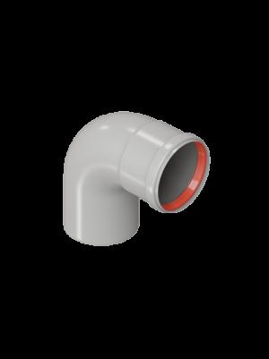Отвод 90 градусов диаметром 80 торговой марки KRATS