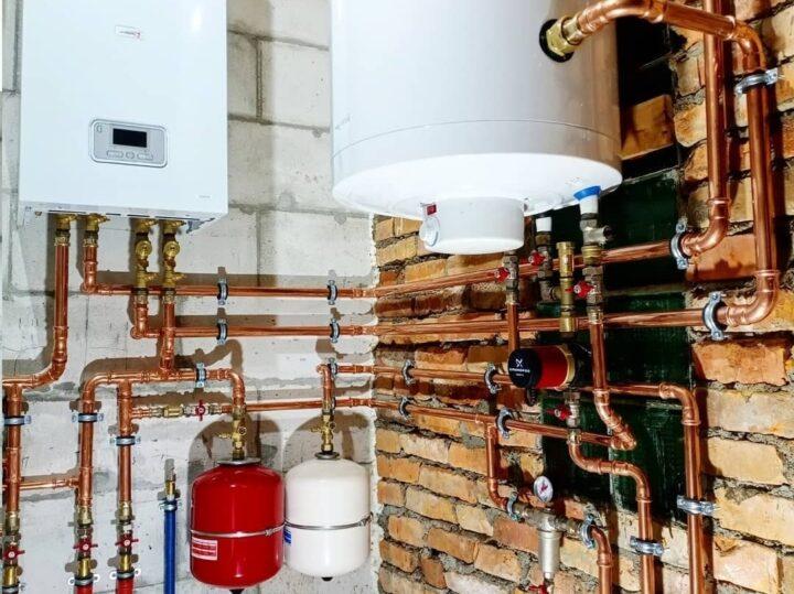 качественный и недорогой монтаж систем отопления и водоснабжения из меди под пр