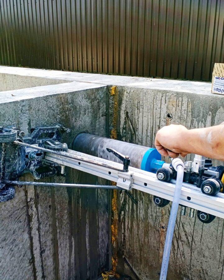 сверление бетона в минске для канализации